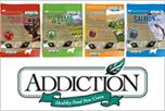 犬のプレミアムフードの通販DOG LIFE PLUS が販売する、アディクションについてのご紹介です