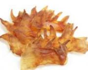 ヒアルロン酸・コラーゲンがたっぷりの無添加おやつ「鶏とさかジャーキー」程よい噛みごたえで大好評です